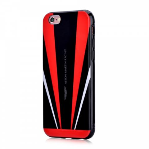 Чехол Aston Martin Vanquish back case for iPhone 6/6s Red/Black