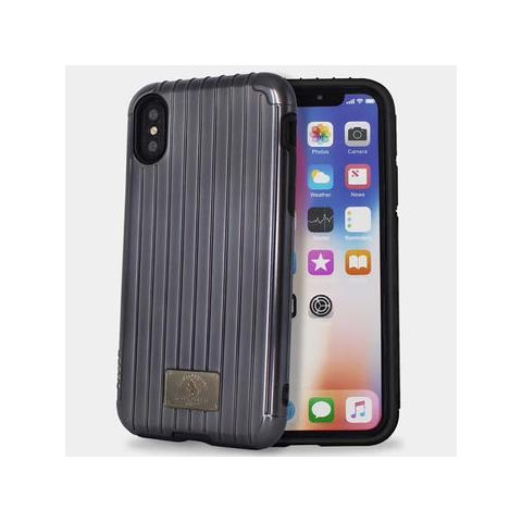 Чехол POLO Lenard Suitcase Shape Double Protective Cases для iPhone X Black
