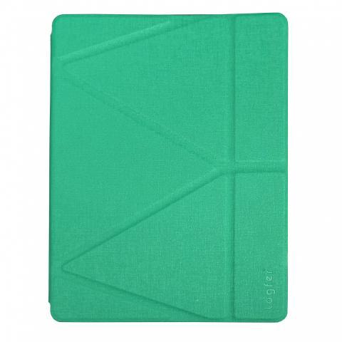 Чехол Logfer с держателем для стилуса для iPad Air - бирюзовый