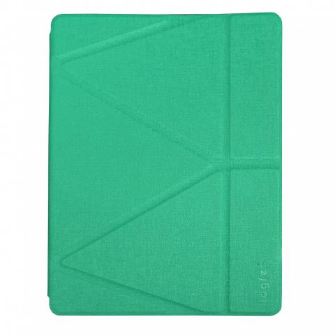 Чехол Logfer с держателем для стилуса для iPad Air 2 - бирюзовый