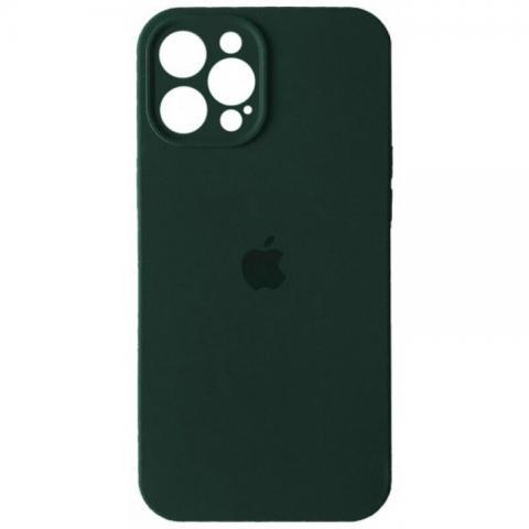 Силиконовый чехол с защитой для камеры для iPhone 12 Pro Max - Cyprus Green