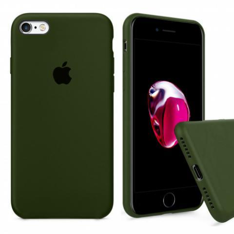 Чехол Full Silicone Case iPhone 6/6S - virid