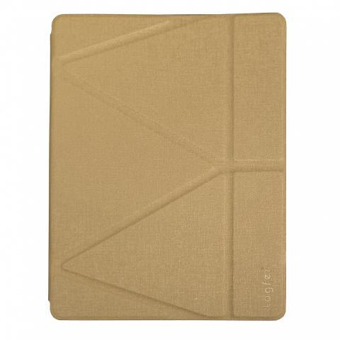 Чехол Logfer с держателем для стилуса для iPad Mini 5 (2019) - золотой