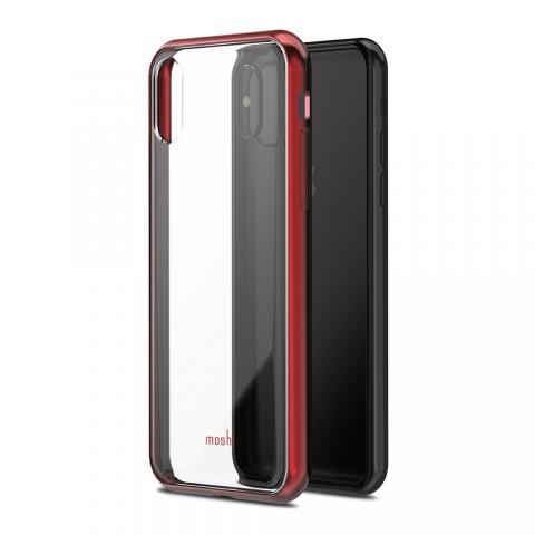 Чехол-накладка Moshi Vitros для Apple iPhone X красный