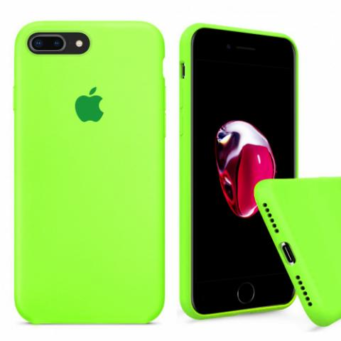 Full Silicone Case for iPhone 8 Plus/7 Plus - party green