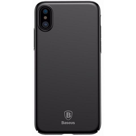 Чехол Baseus Meteorite Case Black For iPhone X (WIAPIPHX-YU01)