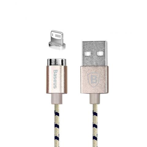 USB-КАБЕЛЬ МАГНИТНЫЙ BASEUS INSNAP SERIES MAGNETIC CABLE FOR IPHONE/IPAD LUXURY ROSE GOLD