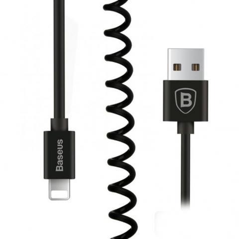 Кабель Baseus Elastic Data Cable - Black
