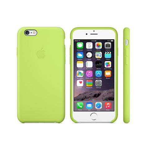 Apple Silicone Case for iPhone 6/6s - green (Hi-Copy)