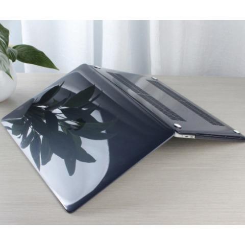 """Прозрачный пластиковый чехол для MacBook Air 13.3"""" Black"""