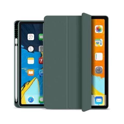 Чехол Smart Case с держателем для стилуса для iPad Mini 5 - Pine Green