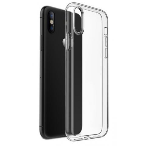 Силиконовый чехол для iPhone XS Max прозрачный