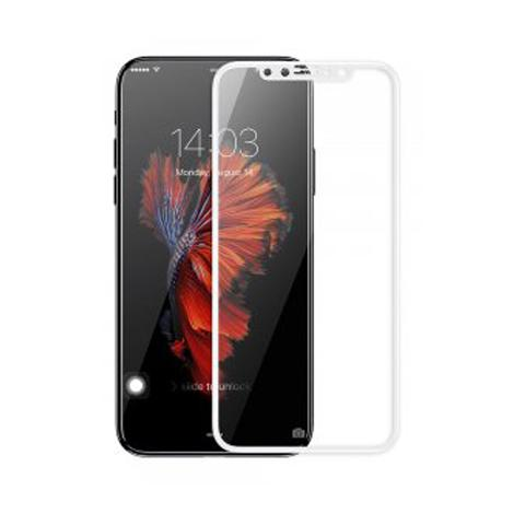 Защитное стекло 9D для APPLE IPHONE X/XS - White