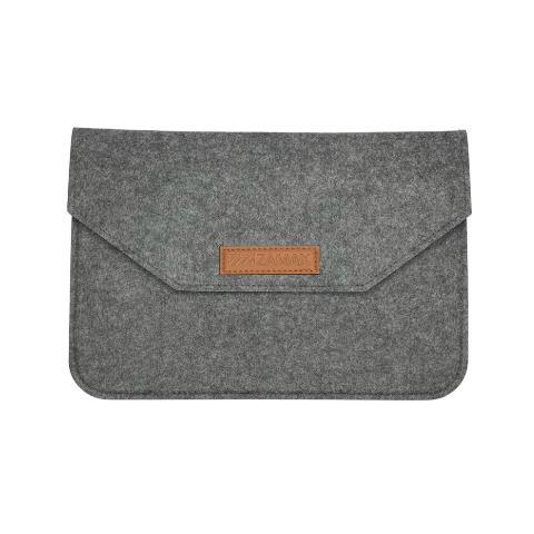 """Чехол из войлока для MacBook Air/Pro 13.3"""" - Grey"""