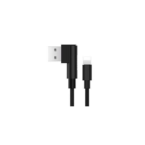 BASEUS Yart Elbow Type for Lightning to USB Cable - Black