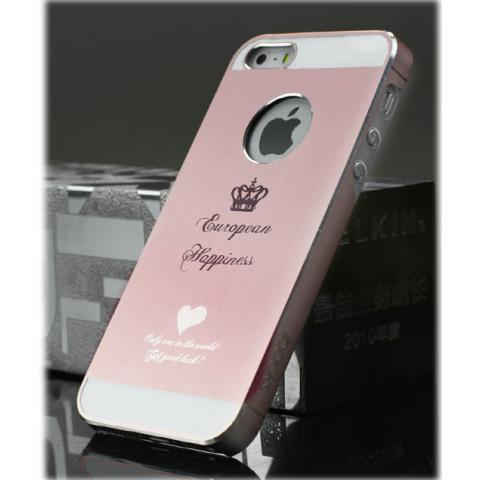 Чехол для Apple iPhone 5/5S/SE iBacks Cameo Crown - Rose