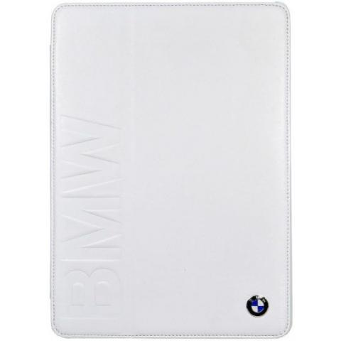 BMW Folio Case для Apple iPad Mini / Mini 2 (Retina)  Book Type Debossed Logo – White