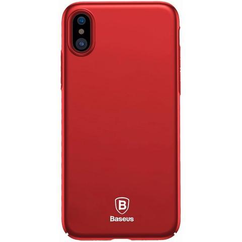 Чехол Baseus Meteorite Case Red For iPhone X (WIAPIPHX-YU09)
