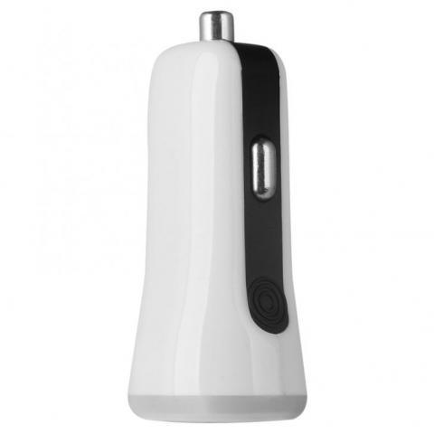 Автомобильное зарядное устройство Baseus Tiny-color 2 USB белое