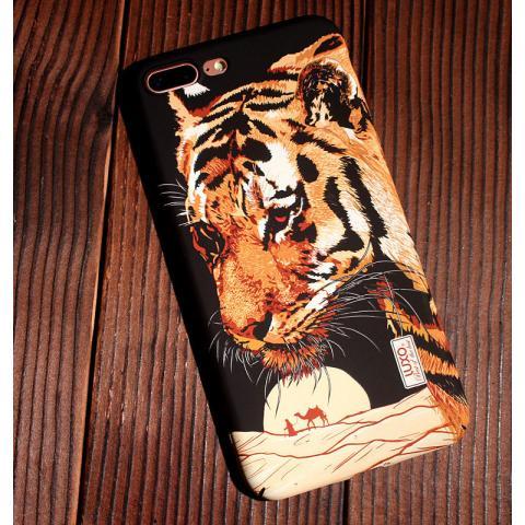 Чехол LUXO Glow Animal series для Apple iPhone 7 - Tiger 2