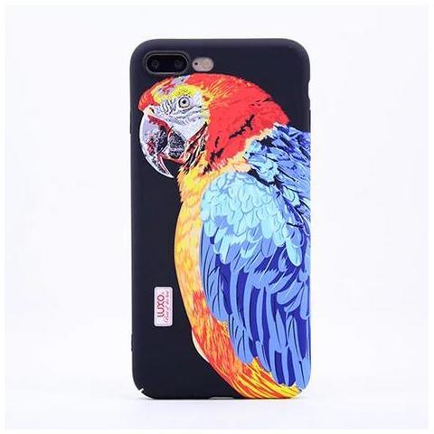 Чехол LUXO Glow Animal series для Apple iPhone 7 - Попугай