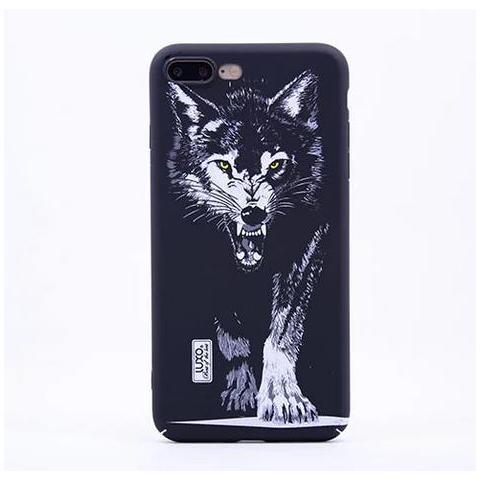 Чехол LUXO Glow Animal series для Apple iPhone 7 - Wolf