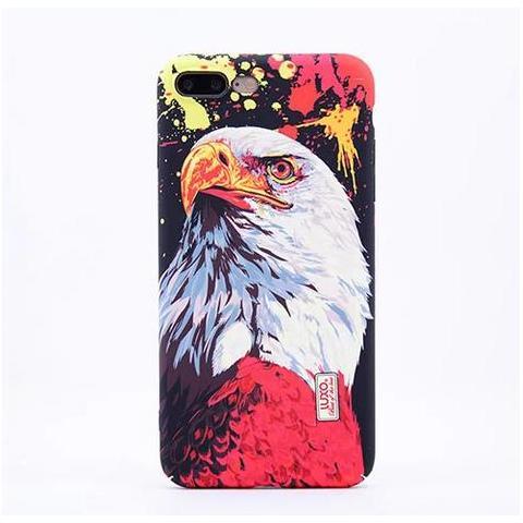 Чехол LUXO Glow Animal series для Apple iPhone 7 - Eagle