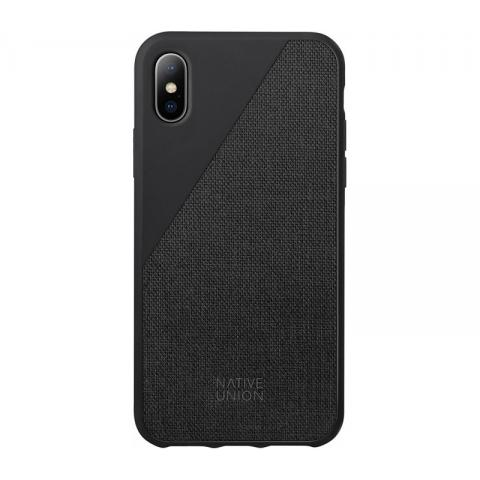 Чехол Native Union Clic Canvas Black for iPhone X (CCAV-BLK-CV-NP17)