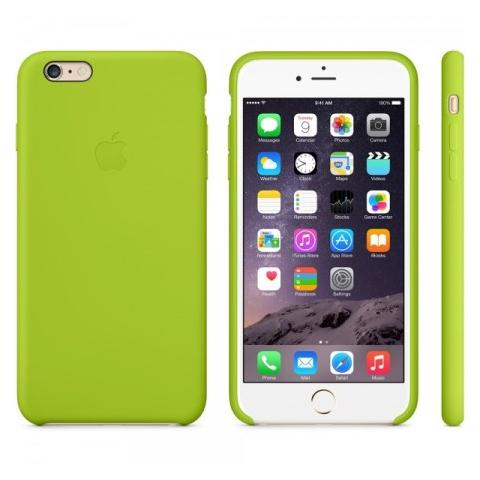 Чехол Apple Case для iPhone 6 Plus Silicone Green