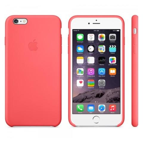 Чехол Apple Case для iPhone 6 Plus Silicone Pink