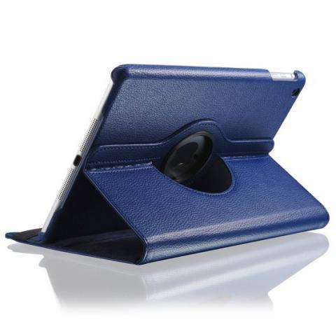 Поворотный чехол 360° Rotating Case для iPad Air 2 - темно-синий