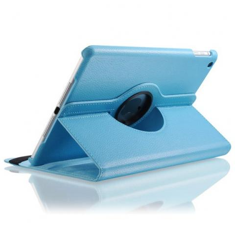 Поворотный чехол 360° Rotating Case для iPad 4/ iPad 3/ iPad 2 - голубой
