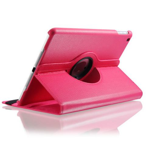 360° Degree Rotating Case для iPad Air - розовый