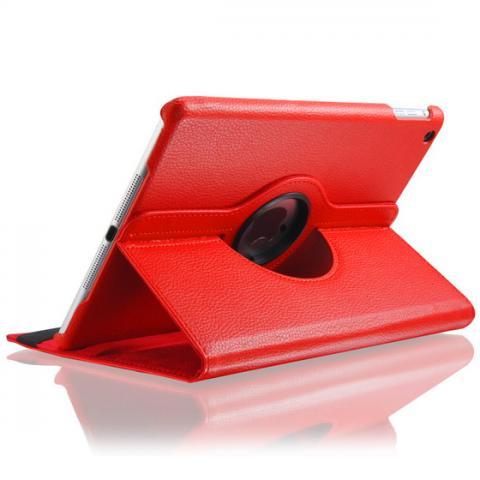 360° Degree Rotating Case для iPad Air - красный