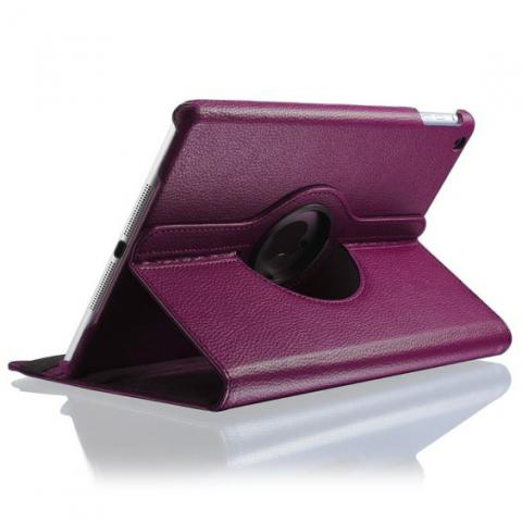 Чехол 360° Rotating Stand/Case для iPad Mini/ Mini 2/ Mini 3 - Фиолетовый