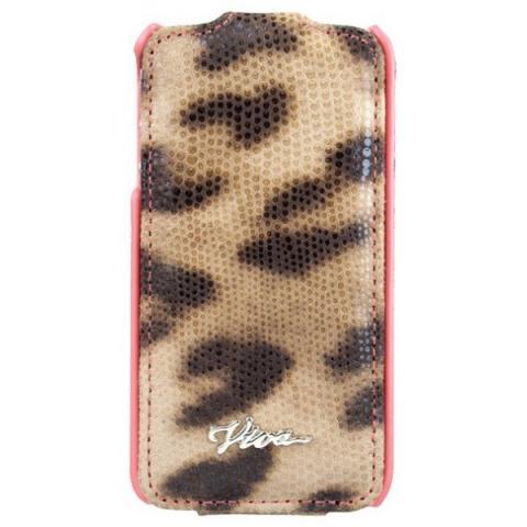Viva LUJO Leopardo LEO dot iPhone 4/4S ivory
