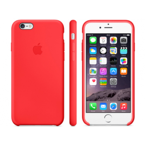 Чехол Apple Case for iPhone 6 Plus Leather Red (Copy)