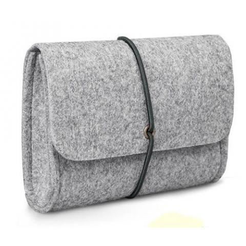 Чехол для зарядки Macbook grey
