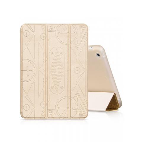 Чехол Hoco Cube series для iPad mini/mini2/mini3 золотой