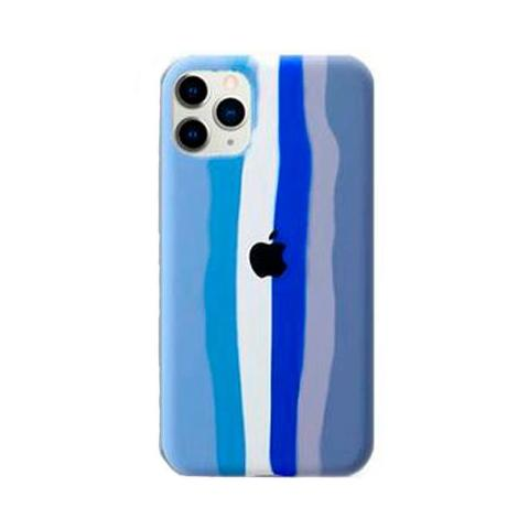 Чехол Rainbow Case для iPhone 11 Blue/Grey