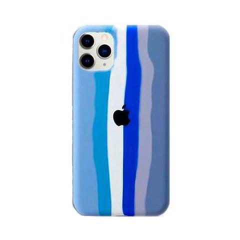 Чехол Rainbow Case для iPhone 12 Pro Max Blue/Grey
