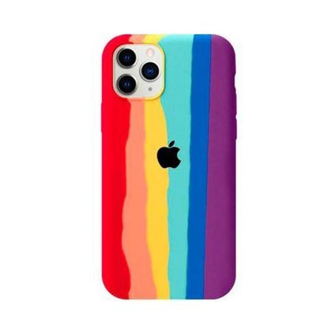 Чехол Rainbow Case для iPhone 12/12 Pro Red/Purple