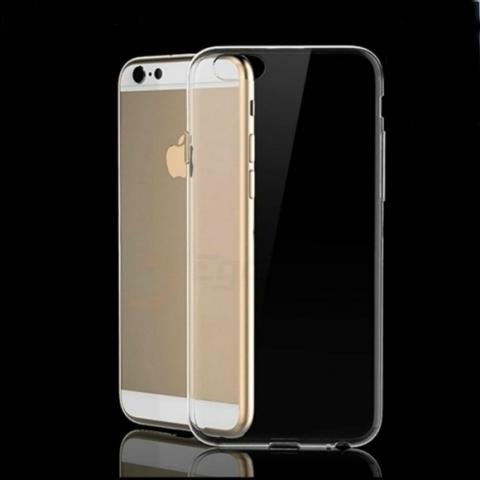 """Силиконовый прозрачный чехол для iPhone 6  (4.7"""") + пленка"""