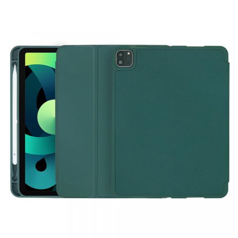 "COTEetCI Liquid Silicone Pen Slot Case для iPad Pro 12.9"" (2020) Dark Green (61011-DG)"