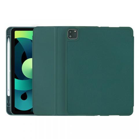 COTEetCI Liquid Silicone Pen Slot Case для iPad Air 4 10,9 (2020) Dark Green (61009-DG)