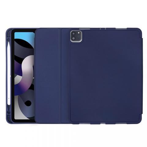 COTEetCI Liquid Silicone Pen Slot Case для iPad Air 4 10,9 (2020) Navy Blue (61009-ZQ)