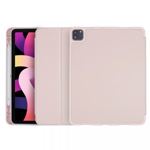 COTEetCI Liquid Silicone Pen Slot Case для iPad Air 4 10,9 (2020) Pink (61009-PK)