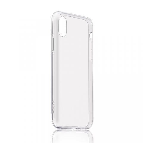 Ультратонкий чехол (TPU) Coteetci Ultra-thin прозрачный для iPhone X