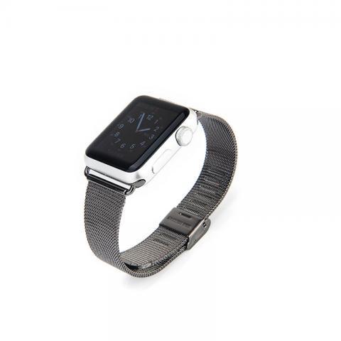 Ремешок для Apple Watch 42/44мм - Coteetci W2 черный