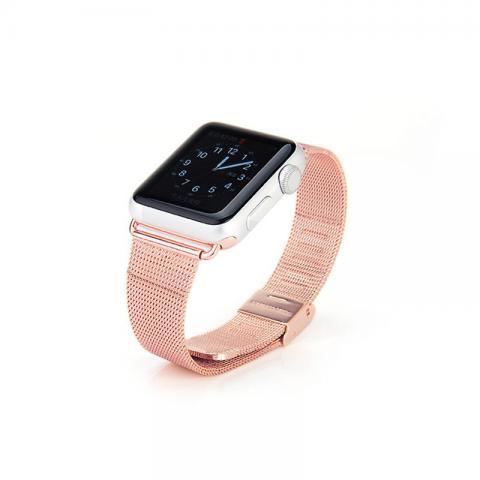 Ремешок для Apple Watch 42/44мм - Coteetci W2 розовый